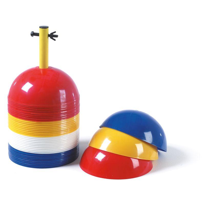 Precision Sports Markers (Set of 40) Multi Colour