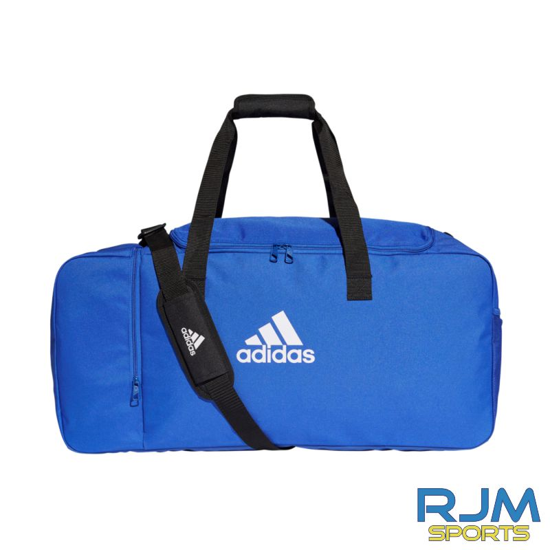 West Lothian Eagles Adidas Tiro Dufflebag Various Sizes Bold Blue White