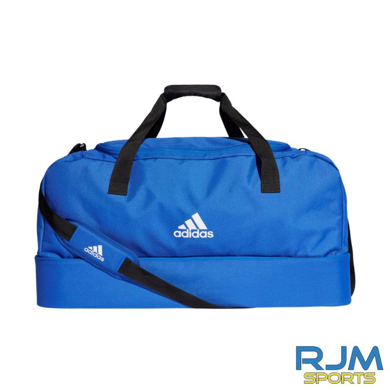 West Lothian Eagles Adidas Tiro Dufflebag Bottom Compartment Various Sizes Bold Blue White