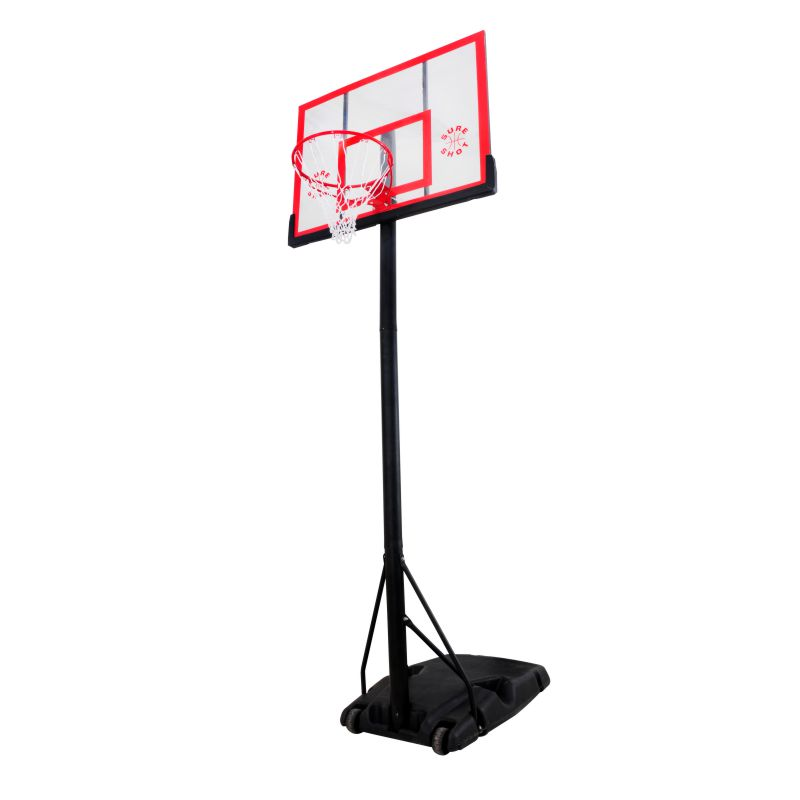 Sure Shot U Just Portable Basketball System With Acrylic Backboard