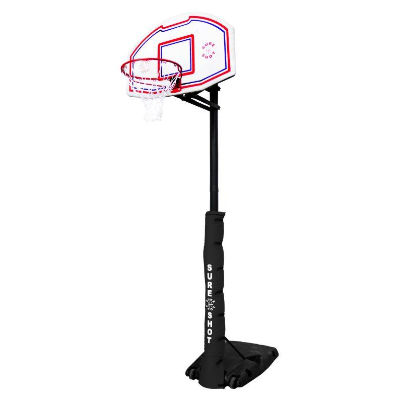 Sure Shot Quick Adjust Portable Basketball System