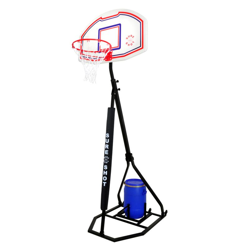Sure Shot Fold n Store Portable Basketball System
