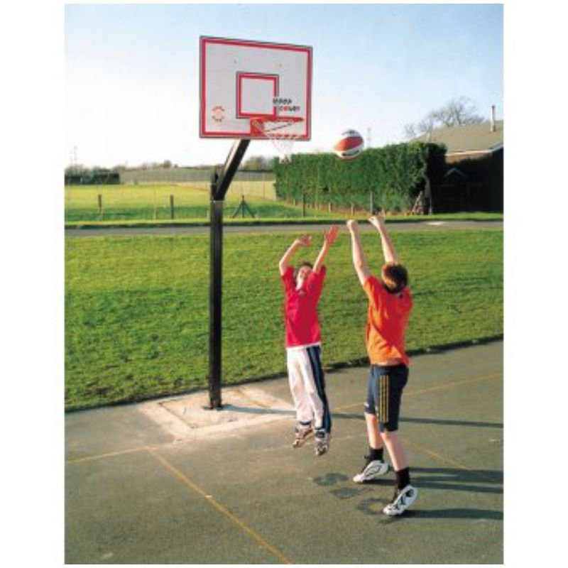 Sure Shot Euro Court In-Ground Basketball System