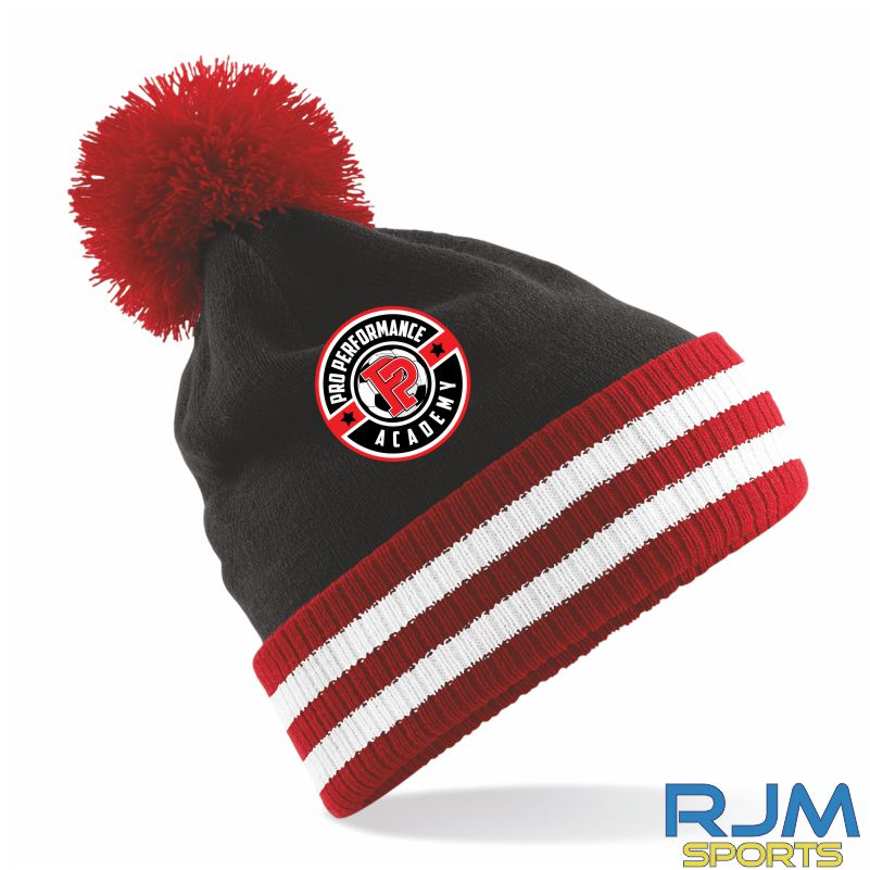 PPA Goalkeeping Bobble Hat Black Red White