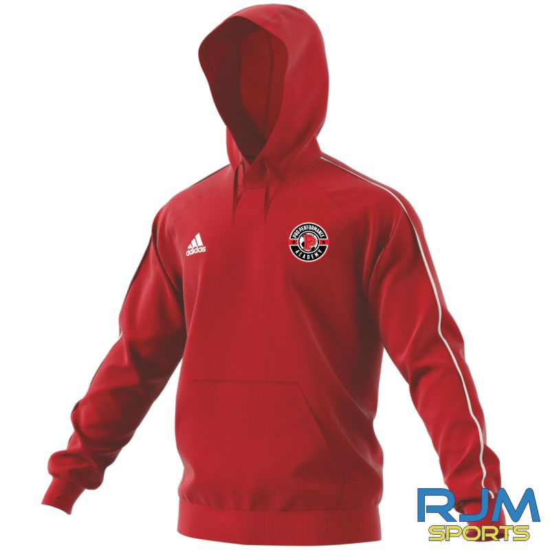 PPA Goalkeeping Adidas Core 18 Hoody Power Red/White
