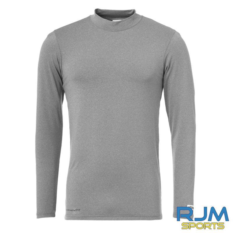 SJFC Uhlsport Distinction Colors Long Sleeve Baselayer Dark Grey Melange