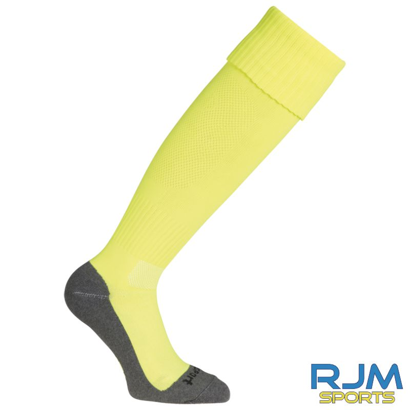 SJFC Uhlsport Team Pro Essential GK Training Socks Fluo Yellow