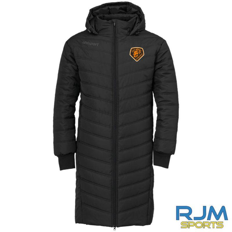 SJFC Uhlsport Essential Winter Bench Jacket Black/Anthra