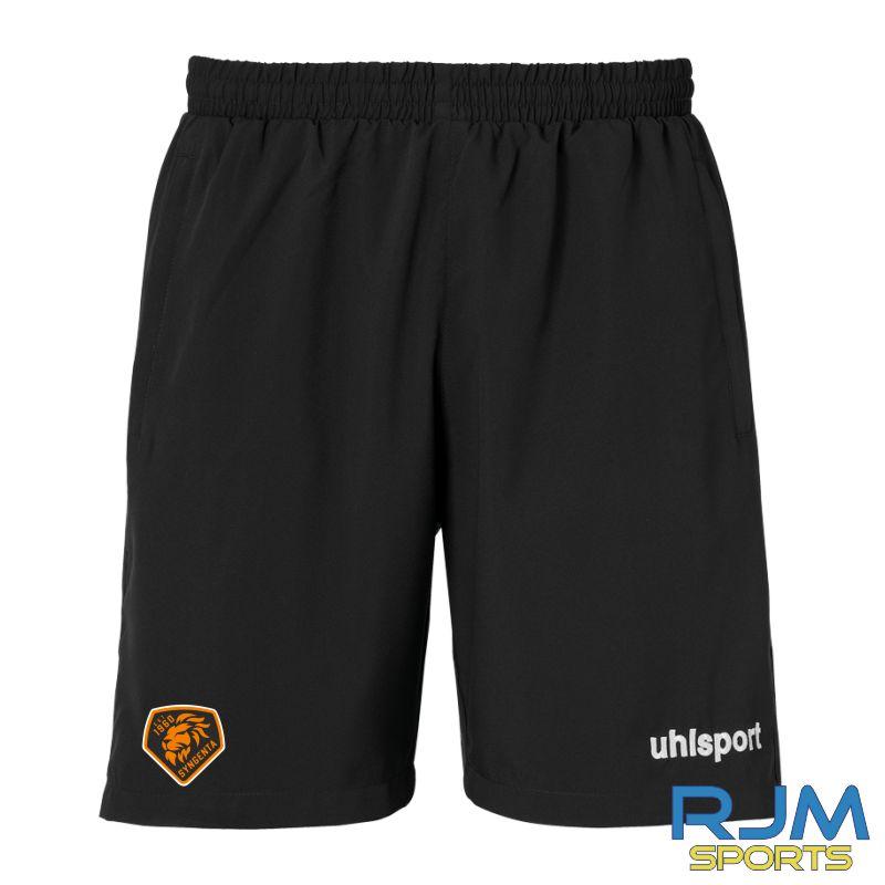 SJFC Uhlsport Essential Woven Shorts Black