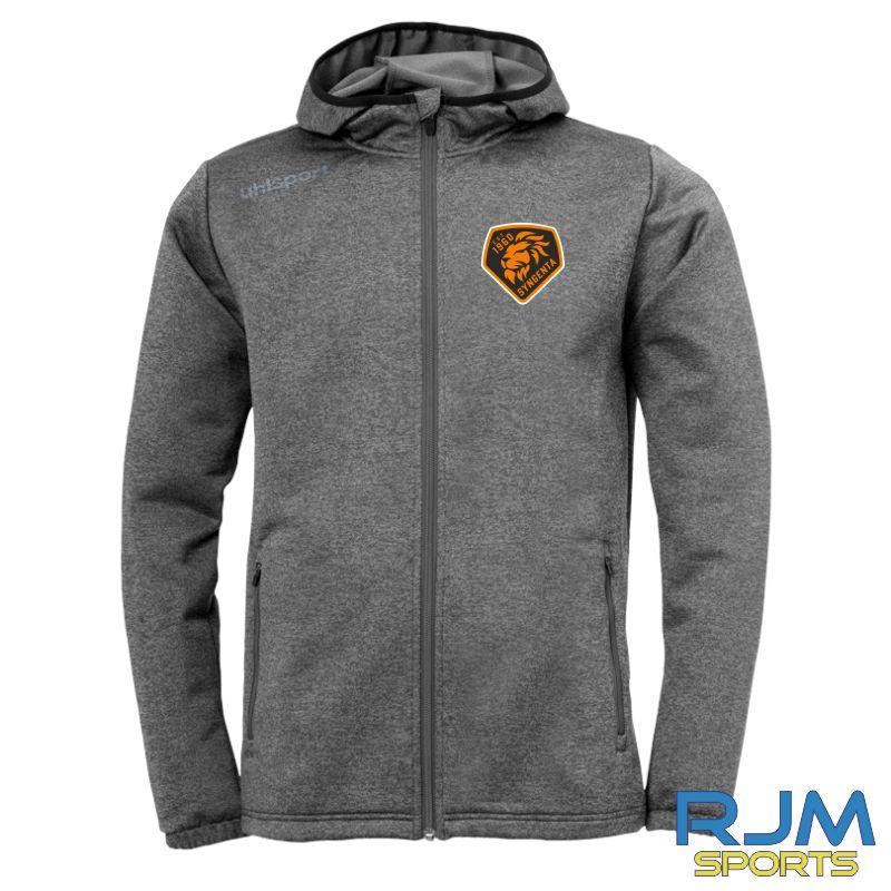 SJFC Uhlsport Essential Fleece Jacket Grey Melange