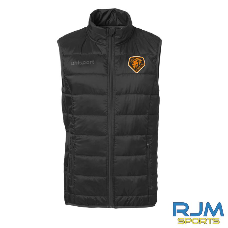 SJFC Uhlsport Essential Ultra Lite Down Vest Black