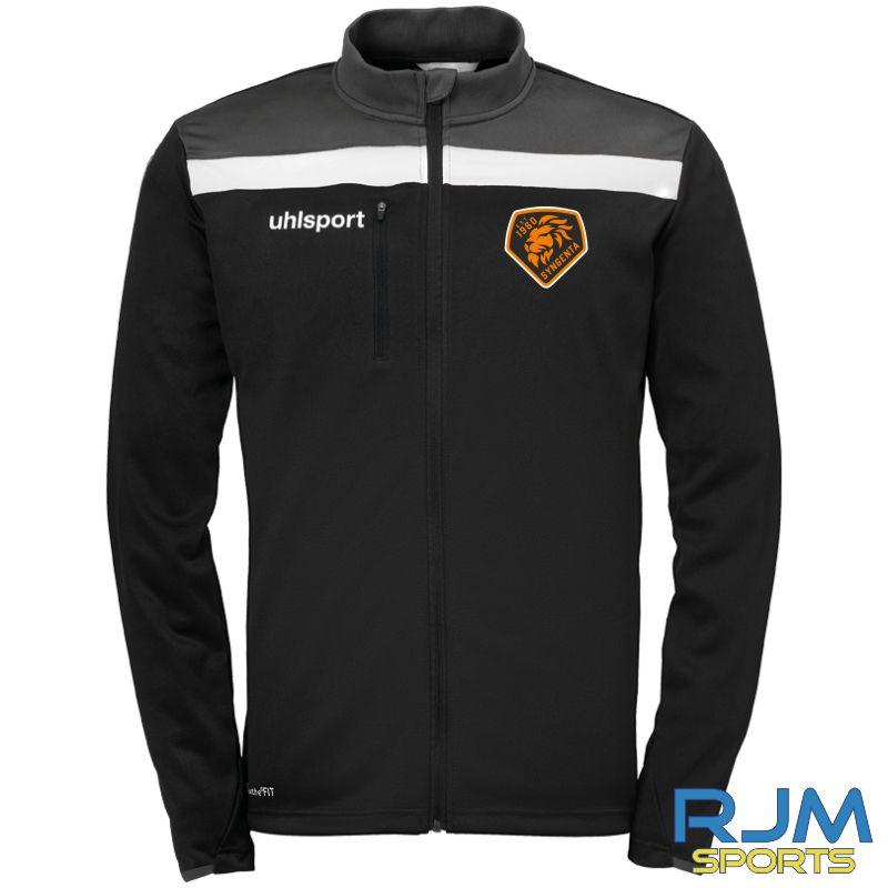 SJFC Uhlsport Offense 23 Poly Jacket Black/Anthra/White