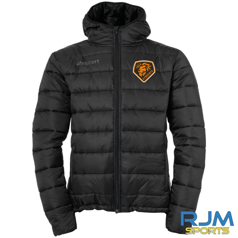 SJFC Uhlsport Puffer Hood Jacket Black