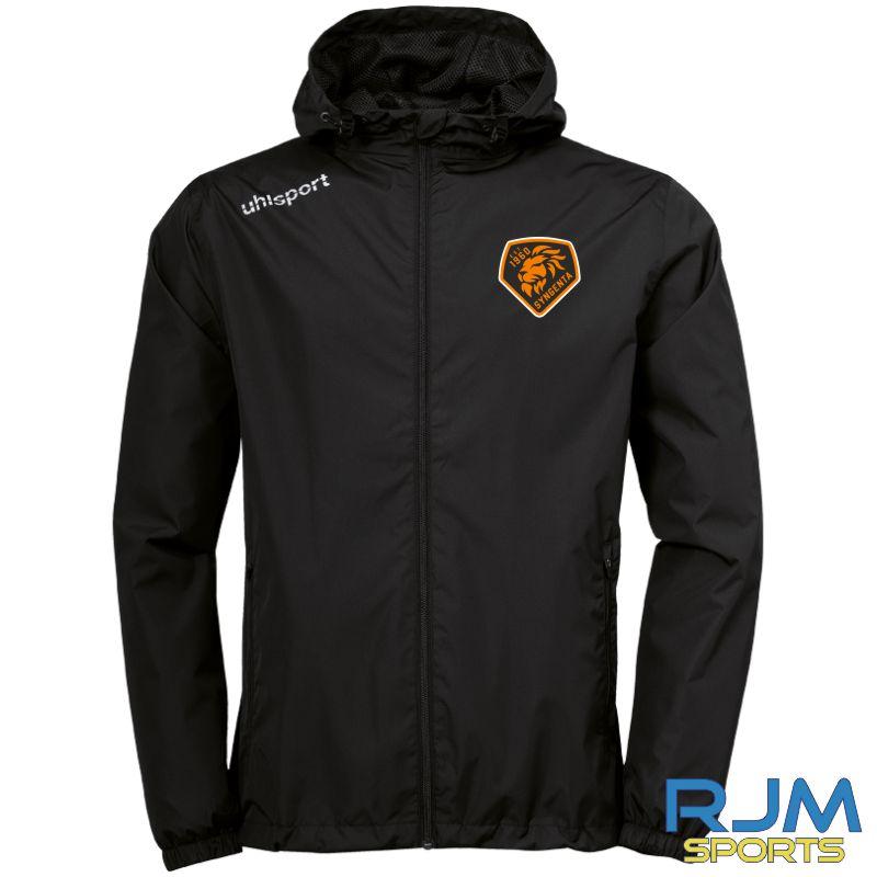SJFC Uhlsport Essential Rain Jacket Black/White
