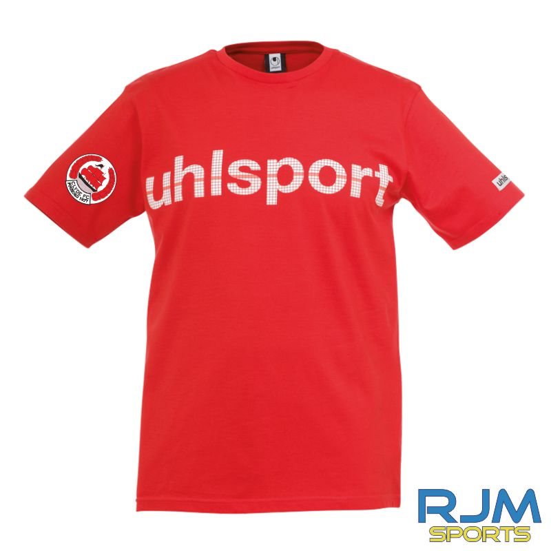 Clyde FC Uhlsport Promo T-Shirt Red