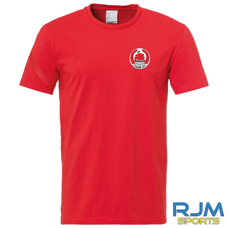 Clyde FC Uhlsport Essential Pro Shirt Red