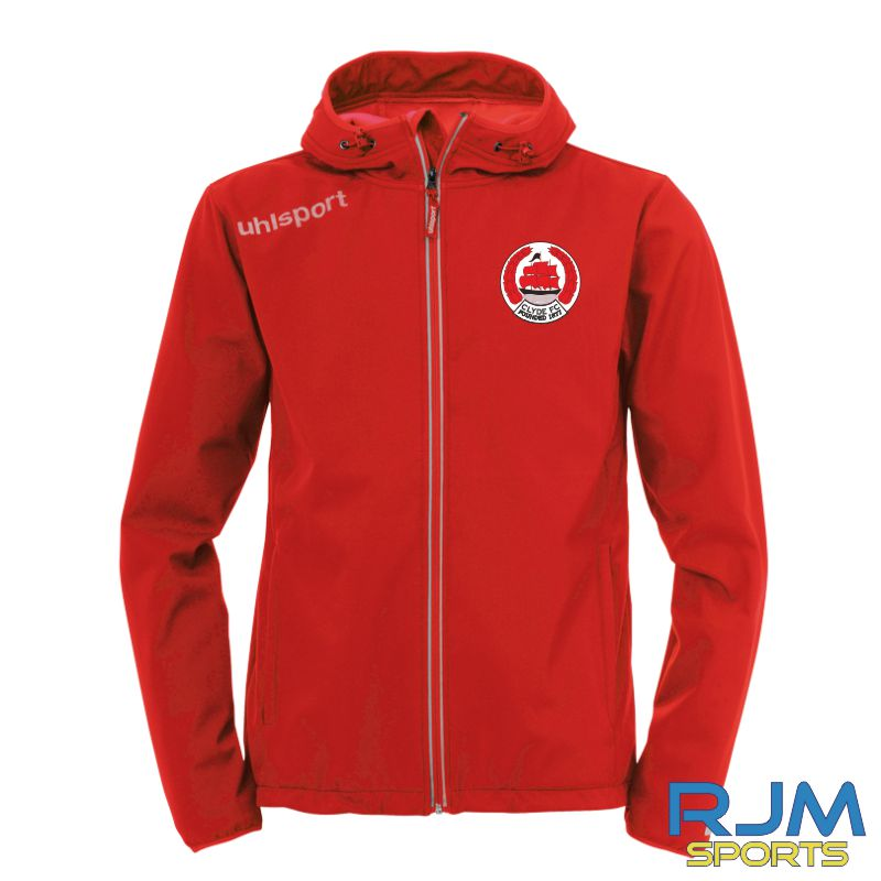 Clyde FC Uhlsport Essential Softshell Jacket Red