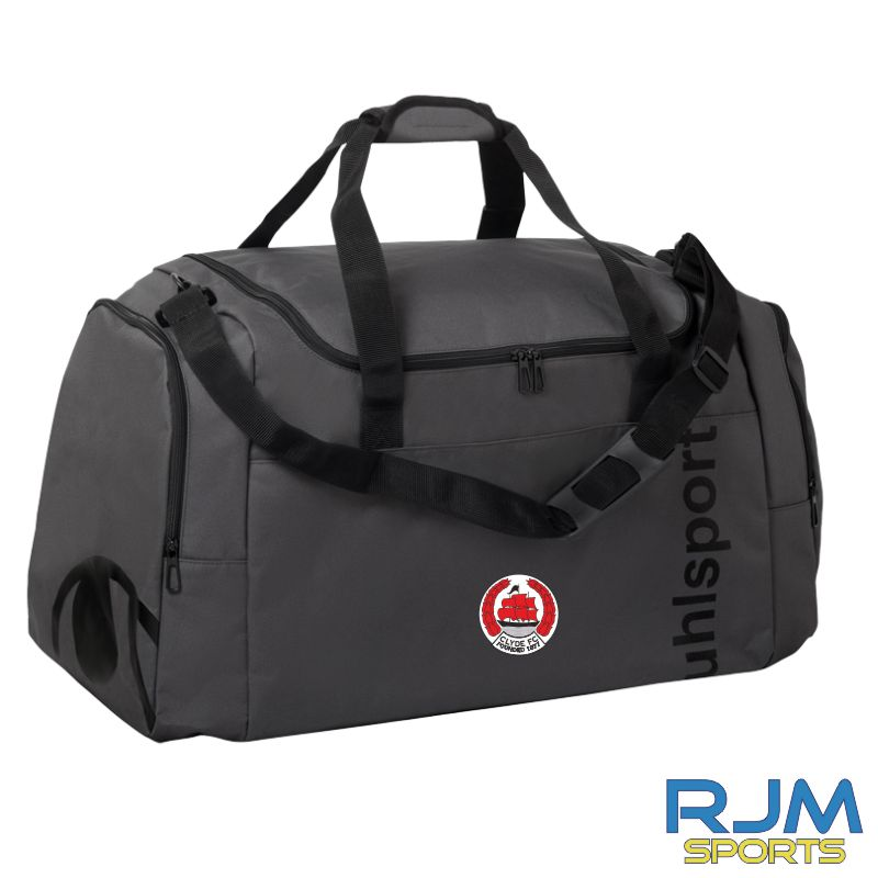 Clyde FC Uhlsport Essential 2.0 Sports Bag Anthra/Black Various Sizes