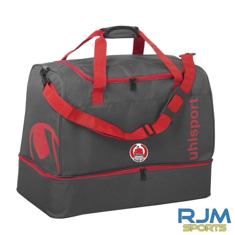 Clyde FC Uhlsport Essential 2.0 Players Bag Anthra/Red Various Sizes