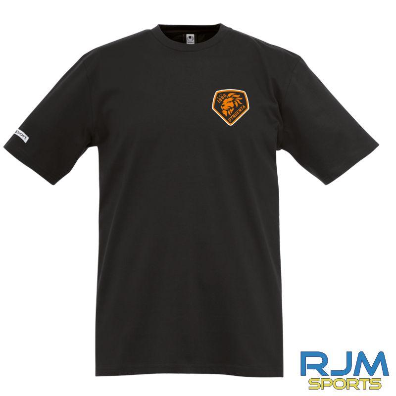 SJFC Uhlsport Teamsport T-Shirt Black