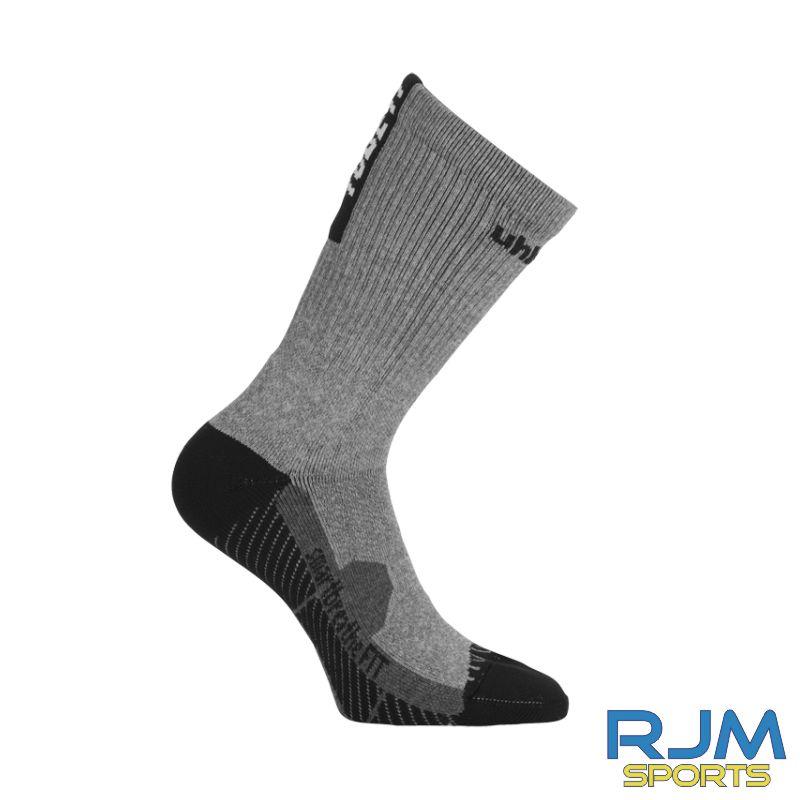 SJFC Uhlsport Tube It Training Socks Dark Grey Melange