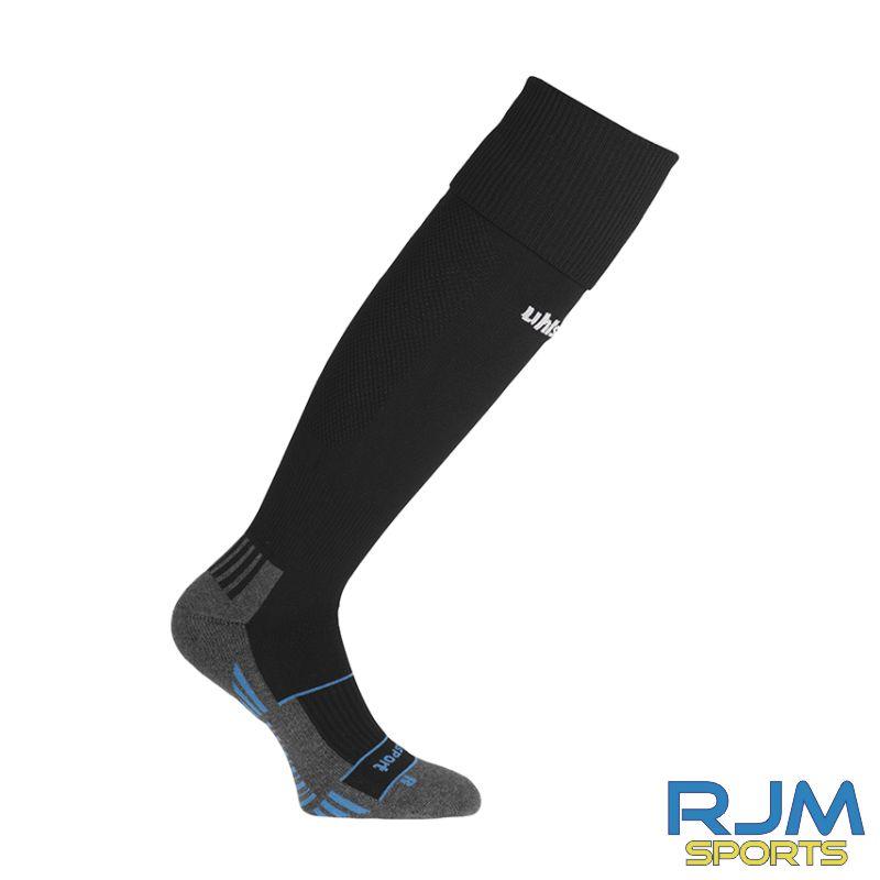 SJFC Uhlsport Team Pro Player Home Socks Black