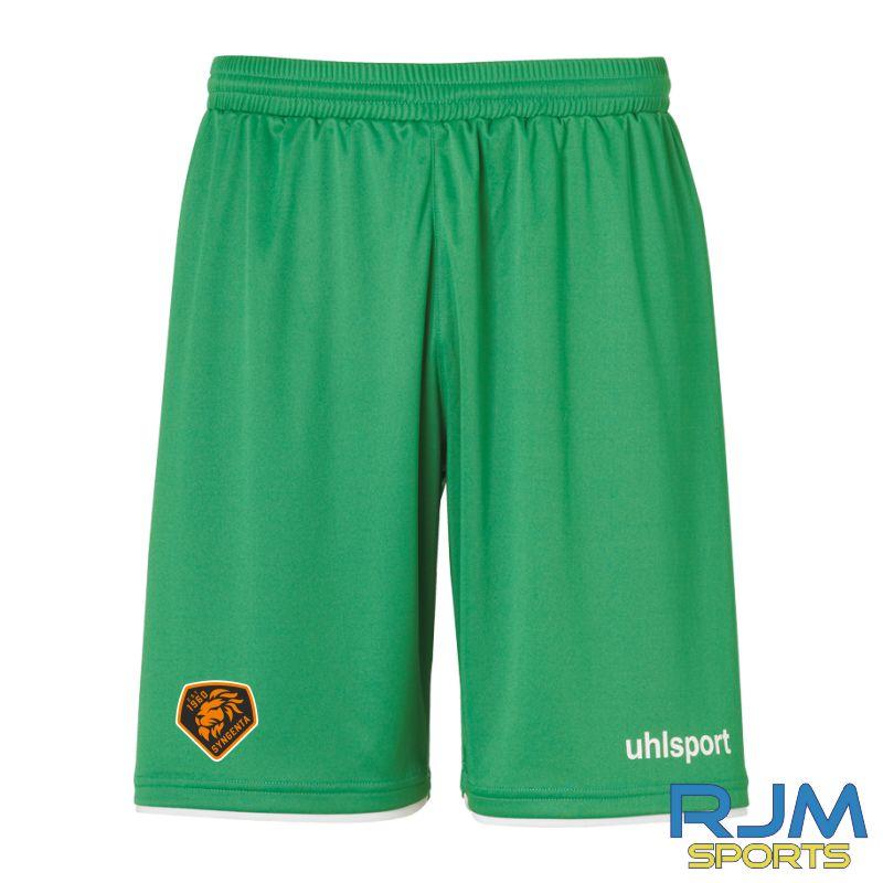 SJFC Uhlsport Club GK Home Shorts Green/White