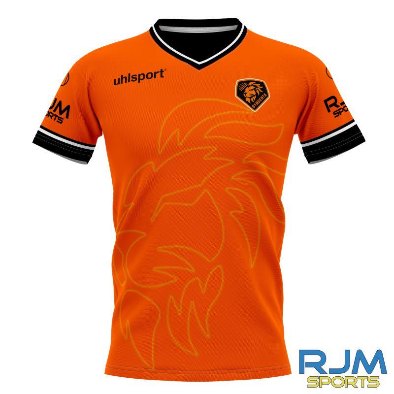 SJFC Uhlsport Bespoke Home Shirt Orange/Black