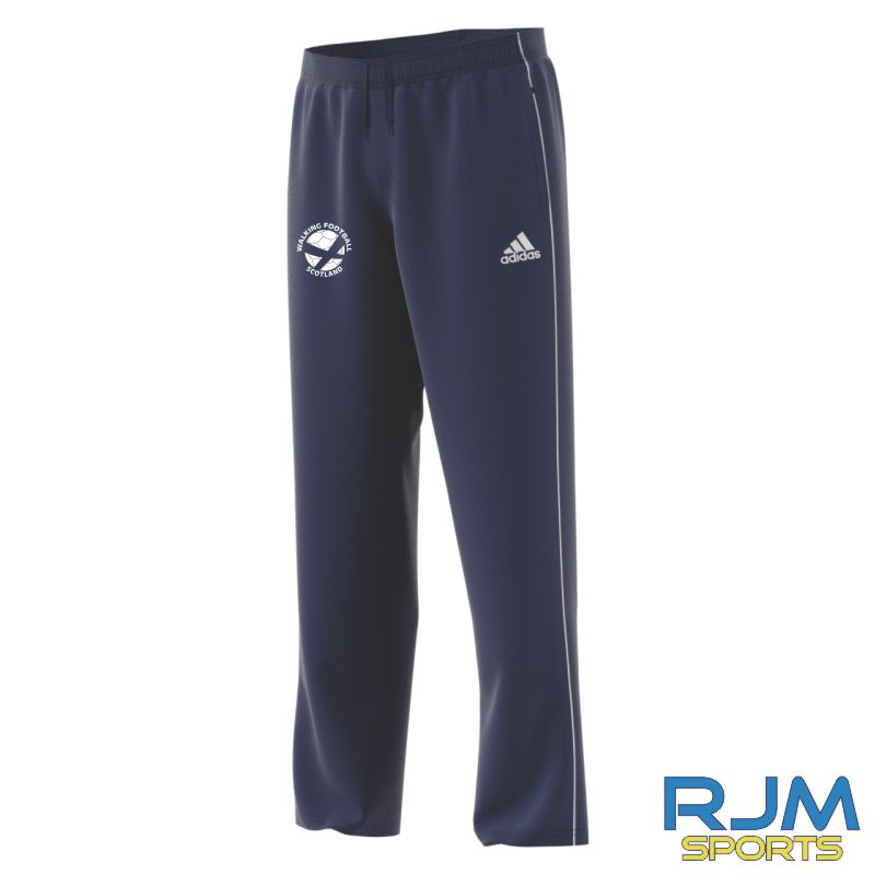 Walking Football Scotland Adidas Core 18 Presentation Pants Dark Blue/White