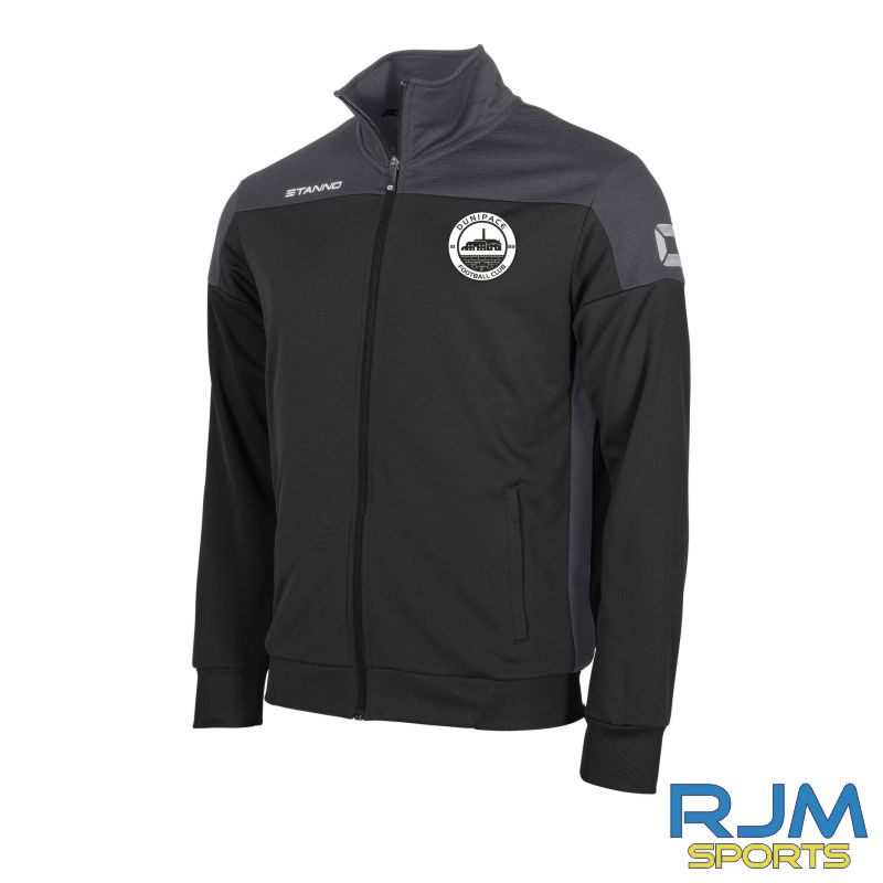 Dunipace FC Stanno Pride TTS Jacket Black/Anthracite