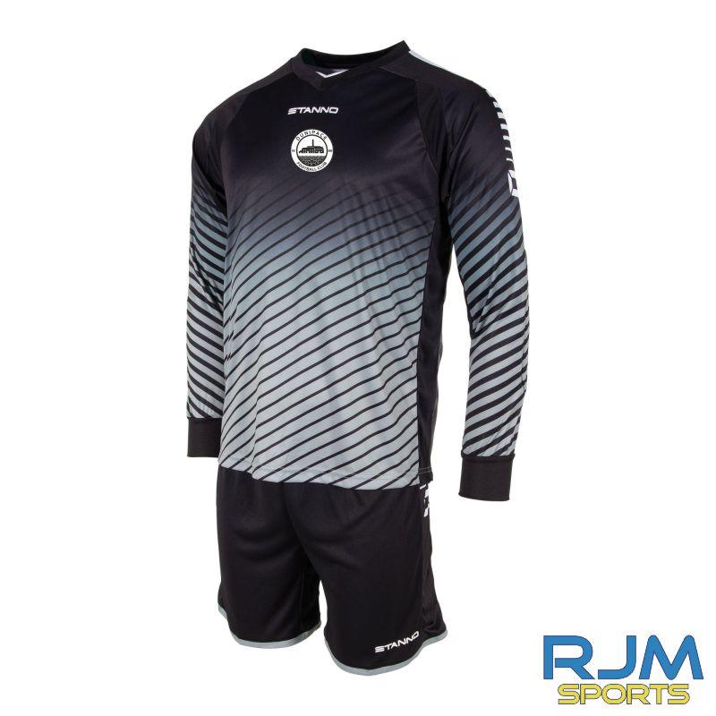 Dunipace FC Stanno Blitz GK Set Anthracite Black