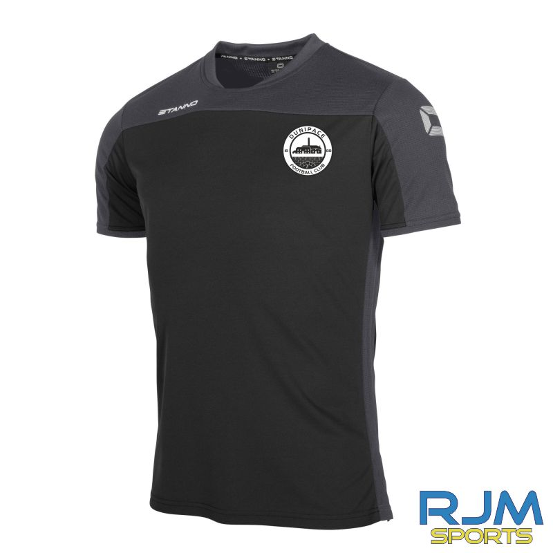 Dunipace FC Stanno Pride T-Shirt Black/Anthracite