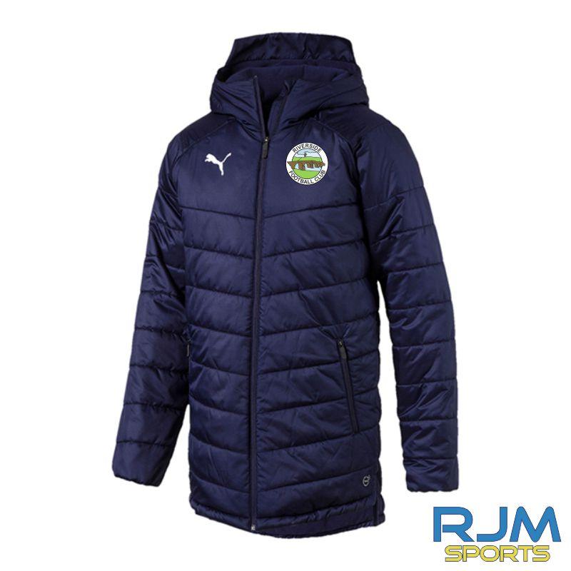 Riverside FC Puma Liga Sideline Bench Jacket Peacoat