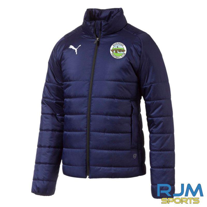 Riverside FC Puma Liga Casuals Padded Jacket Peacoat