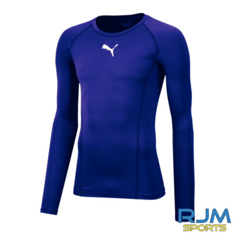 Riverside FC Puma Liga Base Layer Long Sleeve Tee Prism Violet
