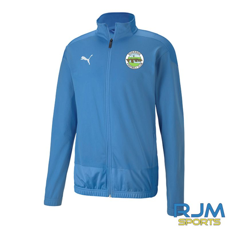 Riverside FC Goal Training Jacket Team Light Blue