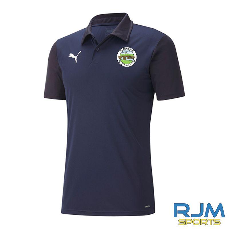 Riverside FC Goal Sideline Polo Shirt Peacoat