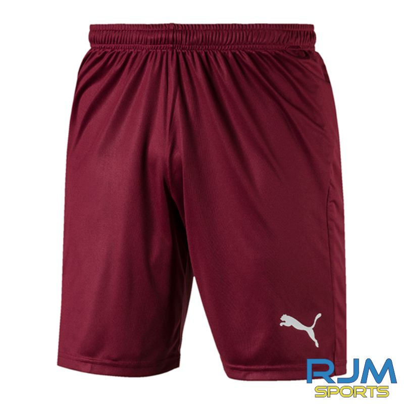 Riverside FC Puma Liga Core Home Shorts Cordovan