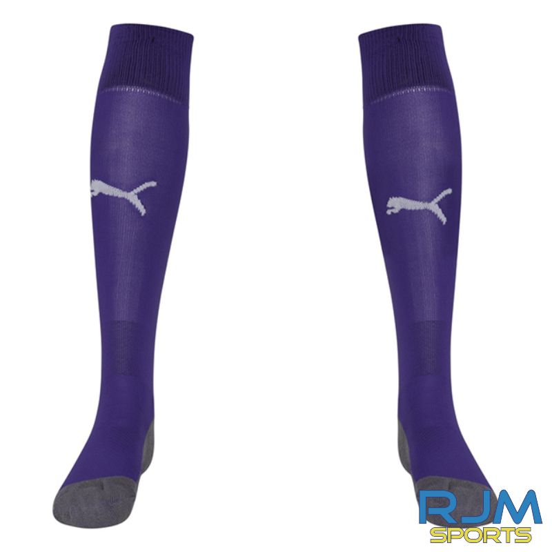 Riverside FC Puma Liga Core Away Socks Prism Violet