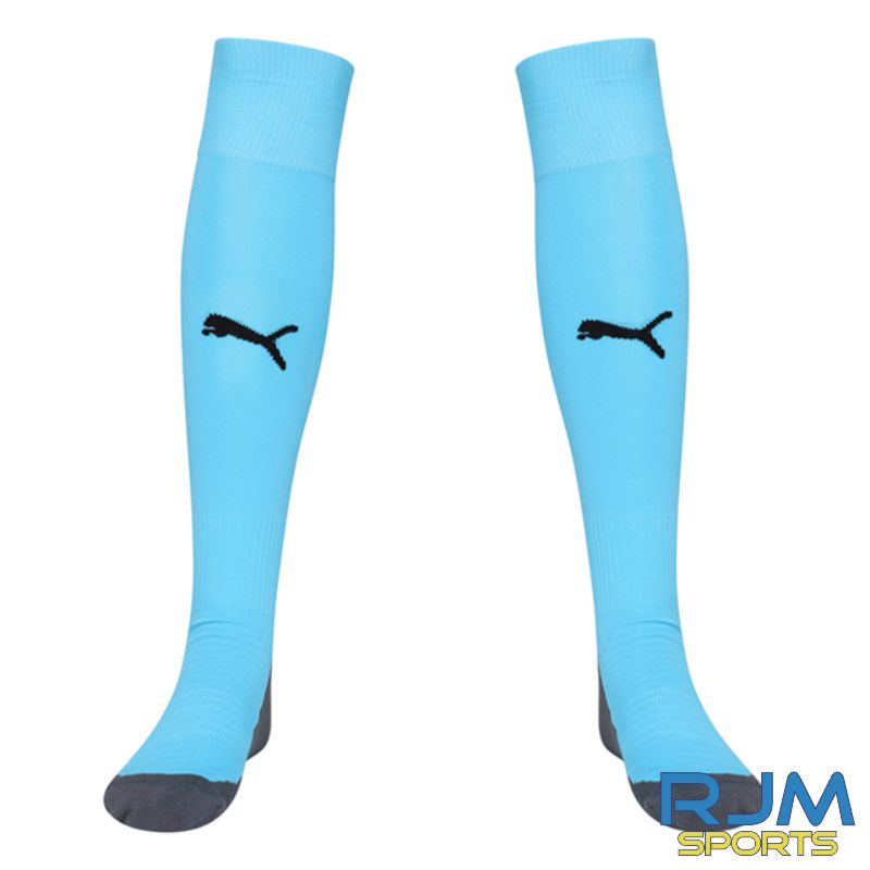 Riverside FC Puma Liga Core Socks Cyber Aquarius