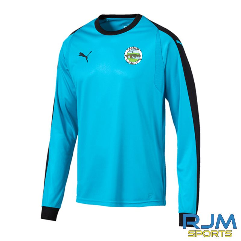 Riverside FC Puma Liga GK Long Sleeve Jersey Cyber Aquarius