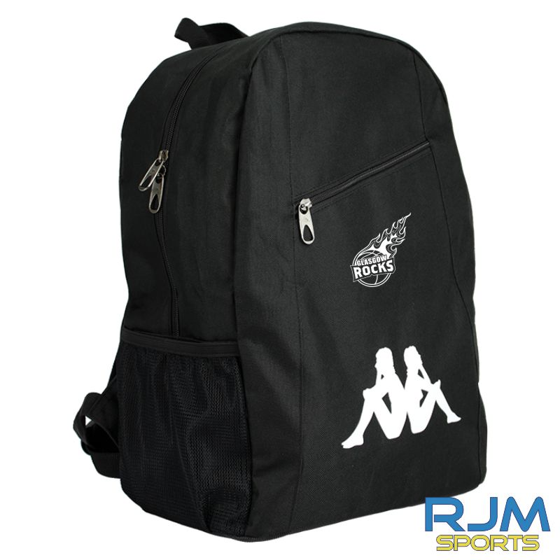 Glasgow Rocks Kappa Veila Backpack Black