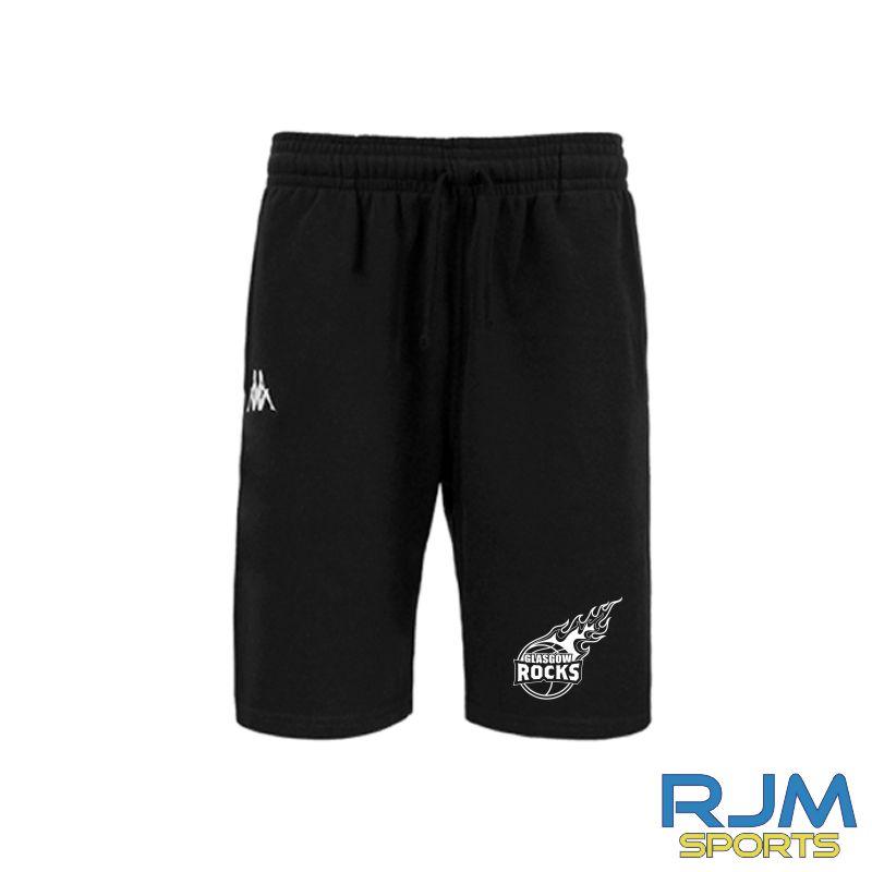 Glasgow Rocks Kappa Peci Shorts Black