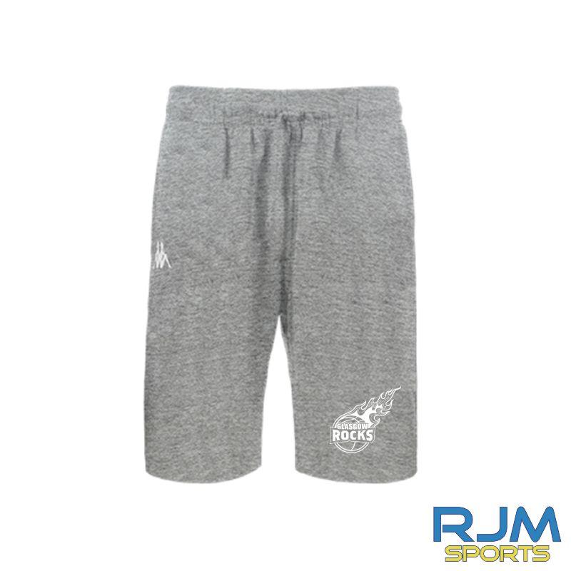 Glasgow Rocks Kappa Peci Shorts Grey