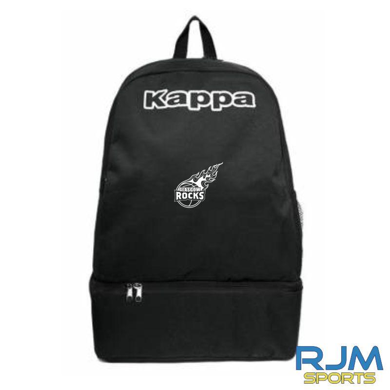 Glasgow Rocks Kappa Backpack Black