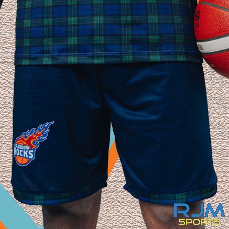 Glasgow Rocks 2020/21 Home Replica Shorts