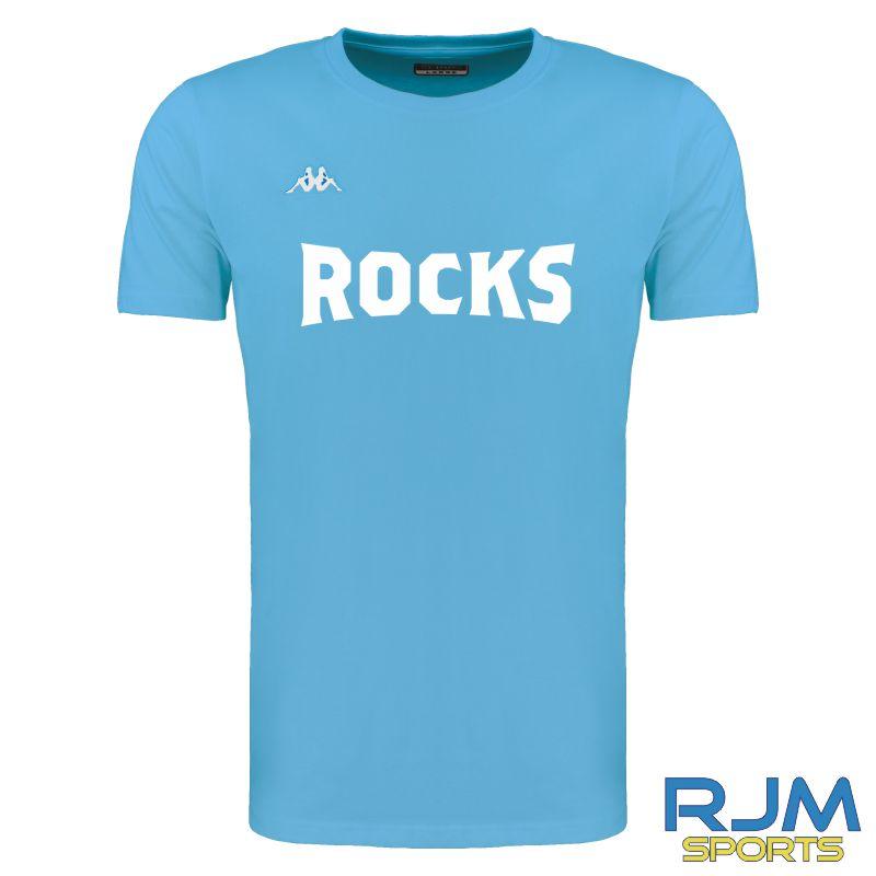 Glasgow Rocks Kappa Meleto ROCKS Cotton Tee Light Blue