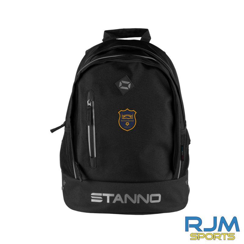 Ratho Utd Stanno Backpack Black