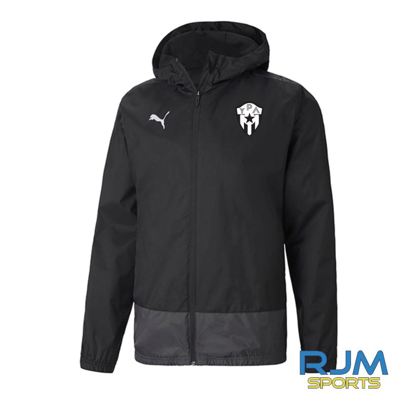 Young Pumas Puma Goal Rain Jacket Black
