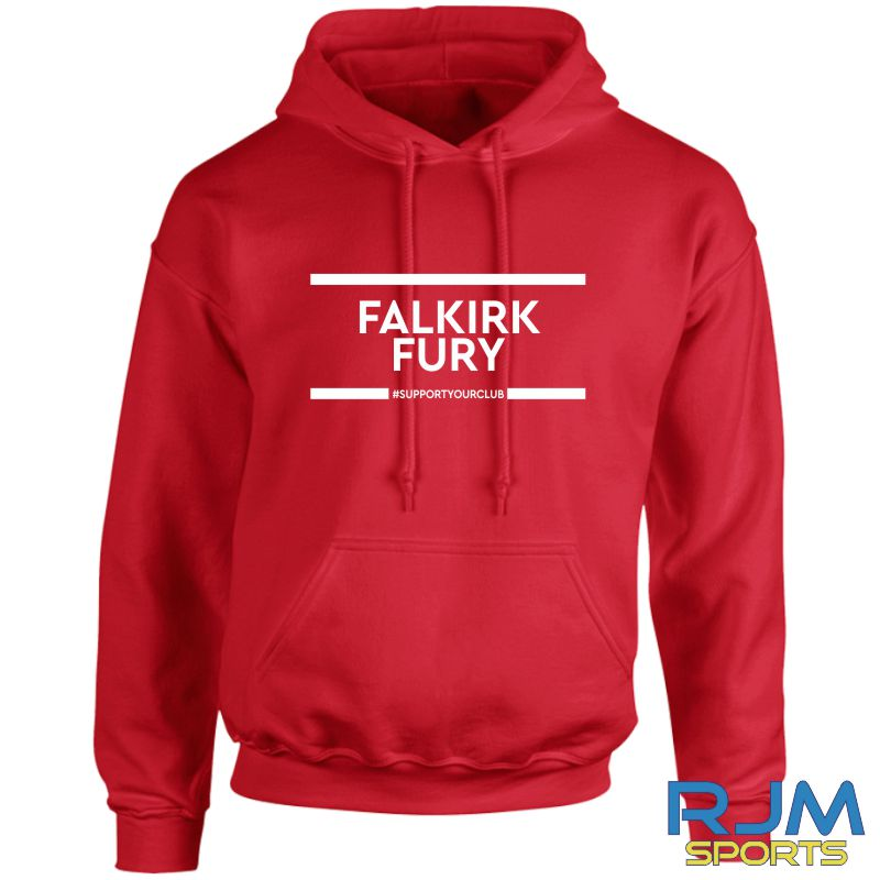 Falkirk Fury #SupportYourClub Hoody Red
